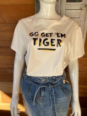 T-shirt Tiger logo